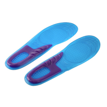 1 Pair Small size Anti-Slip Massaging Orthotic Arch Support Silicone Gel Soft Sport Shoe Insole Pad For Man Women Hight quality