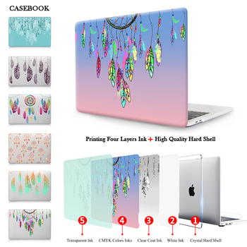 Dream Catcher Feather Matte Hard Case Cover for New Macbook Pro 13 15 with & without Touch Bar Release 2016 A1706/A1708/A1707